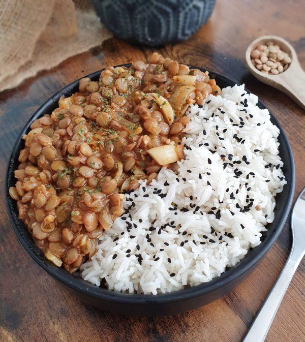 mijoté de lentilles - Ebook Salé Spécial Meal Prep Vegan de Mail0ves - Mailo Fait Maison