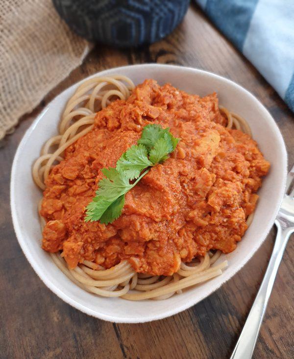 tempeh ail et tomate - Ebook Salé Spécial Meal Prep Vegan de Mail0ves - Mailo Fait Maison