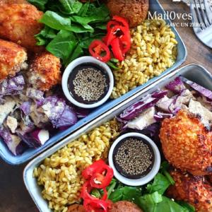 Ebook Salé Spécial Meal Prep Vegan de Mail0ves - Mailo Fait Maison