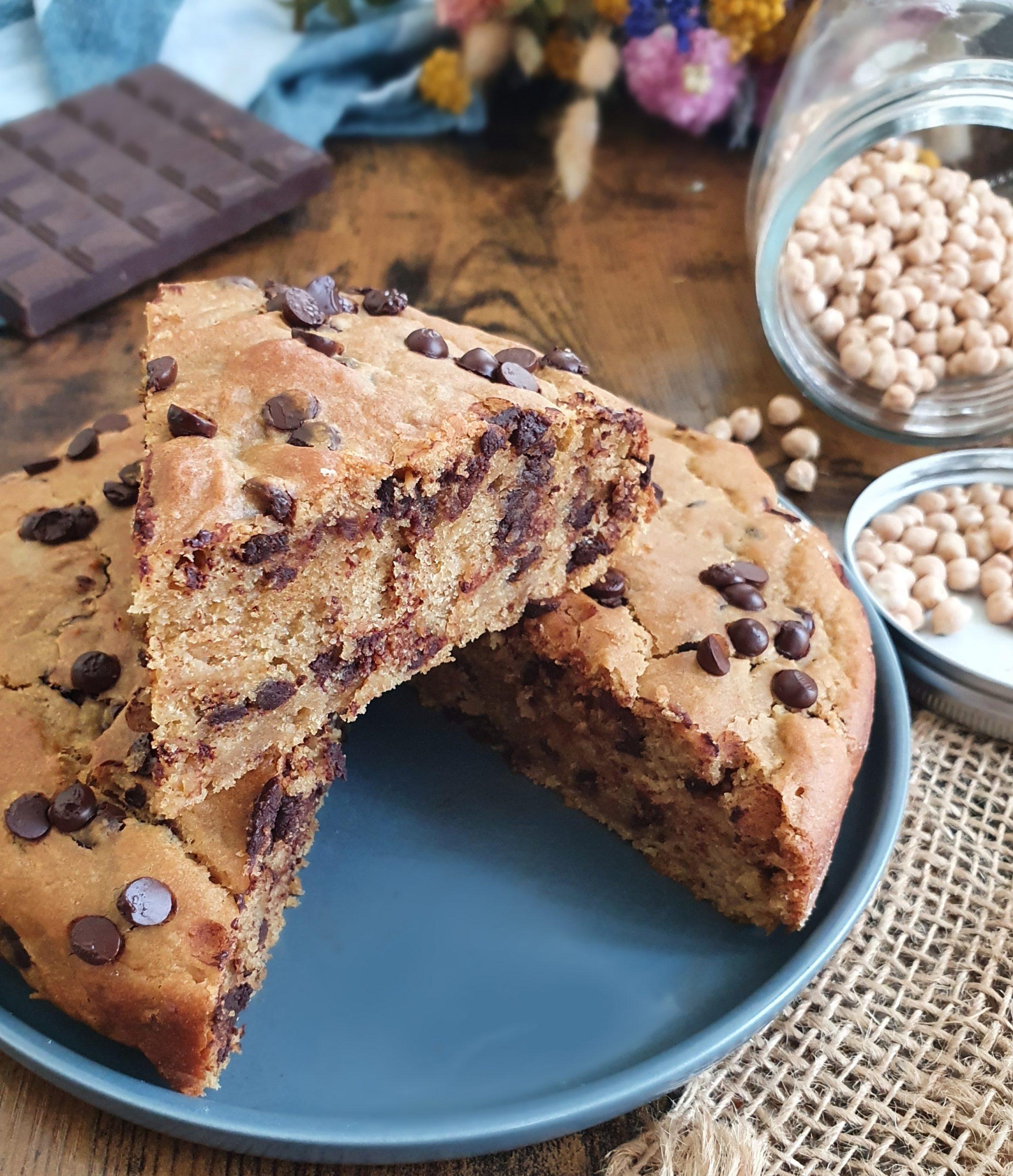 Cake au Pois Chiche Indétectable (Vegan)