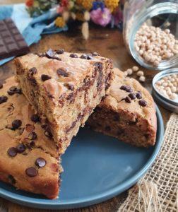 Cake au pois chiche indétectable (vegan) de mail0ves - Mailo Fait Maison