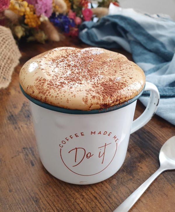 Dalgona Café Caramel Sans Sucre Blanc