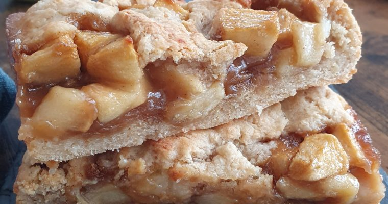 Cobbler Aux Pommes Healthy (Vegan)
