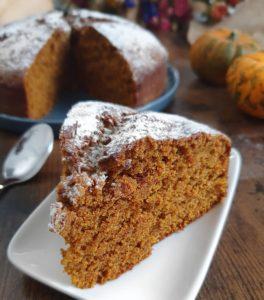 Pumpkin Cake Moelleux Vegan. La recette de gâteau à la citrouille healthy, sans beurre, sans farine blanche et sans sucre raffiné de mail0ves - Mailo Fait Maison.