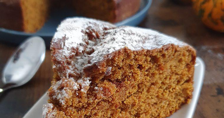 Pumpkin Cake Moelleux Healthy (Vegan et Sans Gluten)