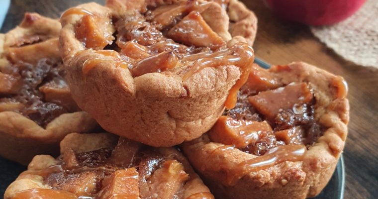 Cookie Cups Pomme Caramélisée Express (Vegan)