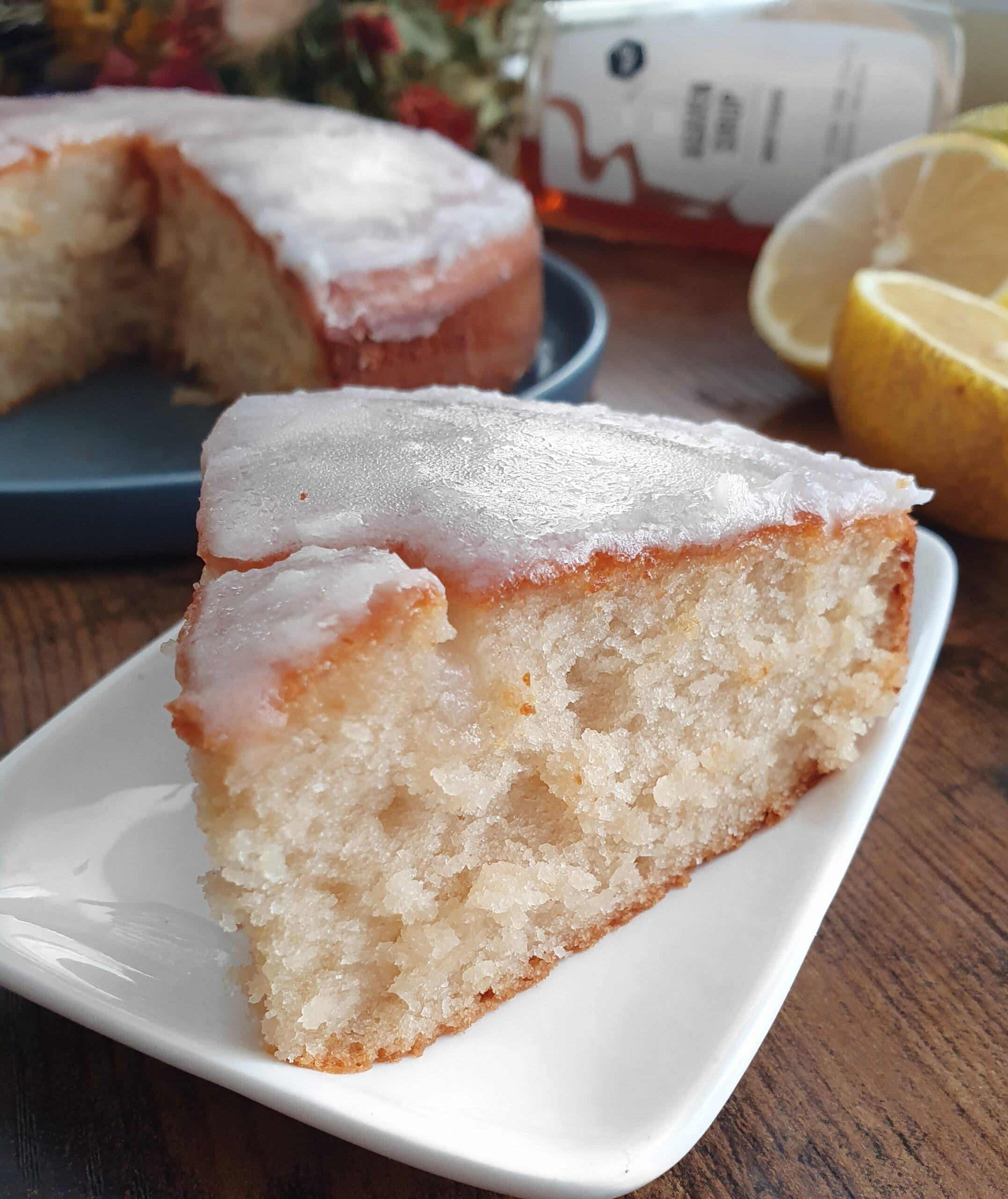 Cake au Citron Sans Gluten ou pas (vegan)