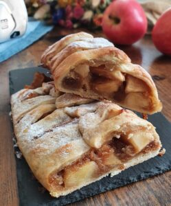 Strudel Aux Pommes Healthy. La recette de strudel aux pommes express et vegan de mail0ves - mailo fait maison