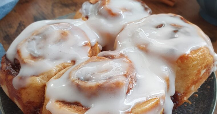 Cinnamon Rolls Healthy Express (Vegan)