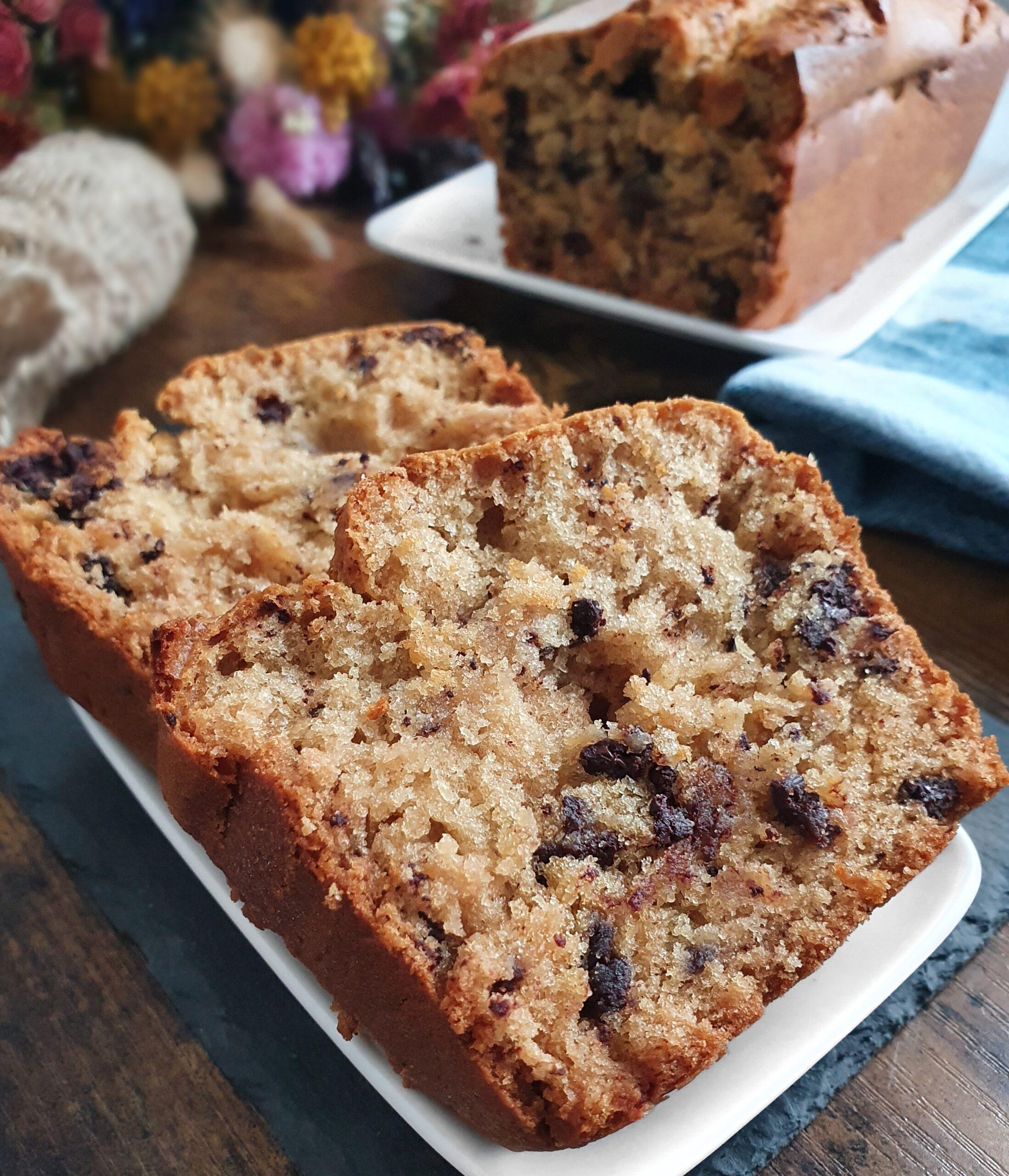 Cake Moelleux Nature option Sans Gluten (Vegan)