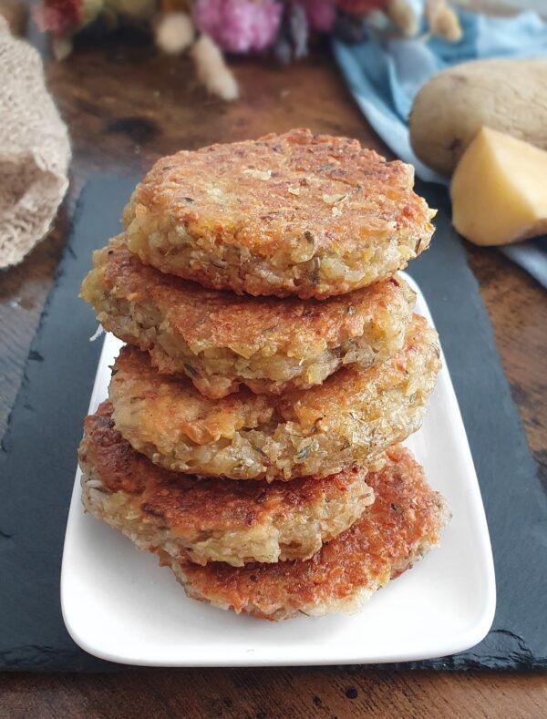 Galettes de pomme de terre vegan pour le brunch express - sucrées et salées de mail0ves - Mailo Fait Maison