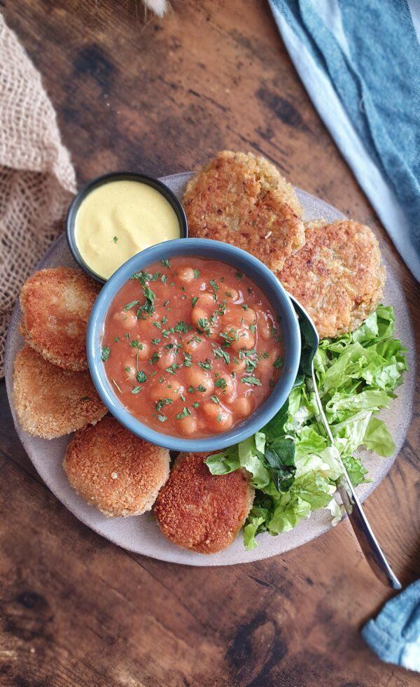 Assiette de brunch vegan express de mail0ves - Mailo Fait Maison