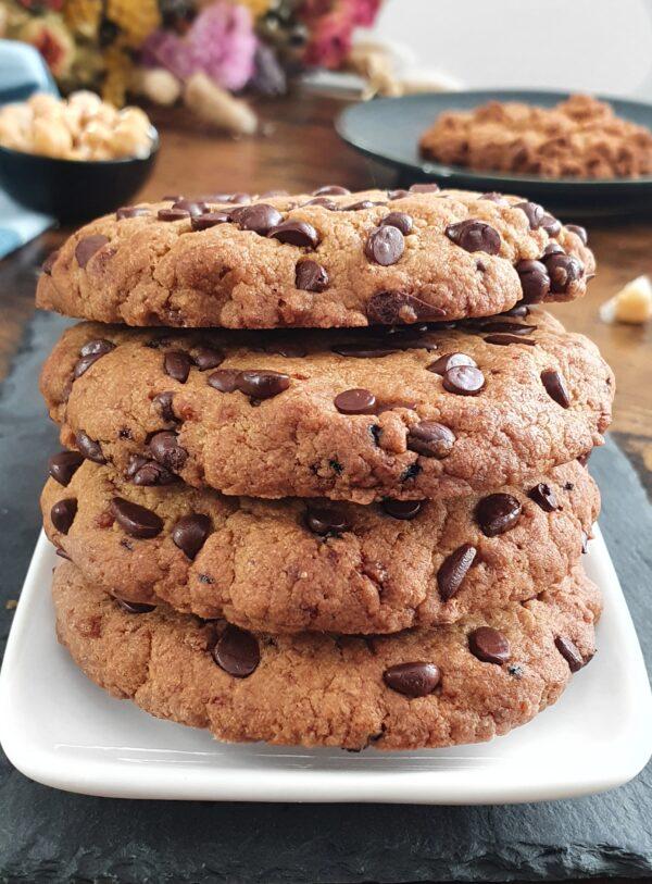 Cookies Crousti-Moelleux au Pois Chiche Indétectable (vegan)