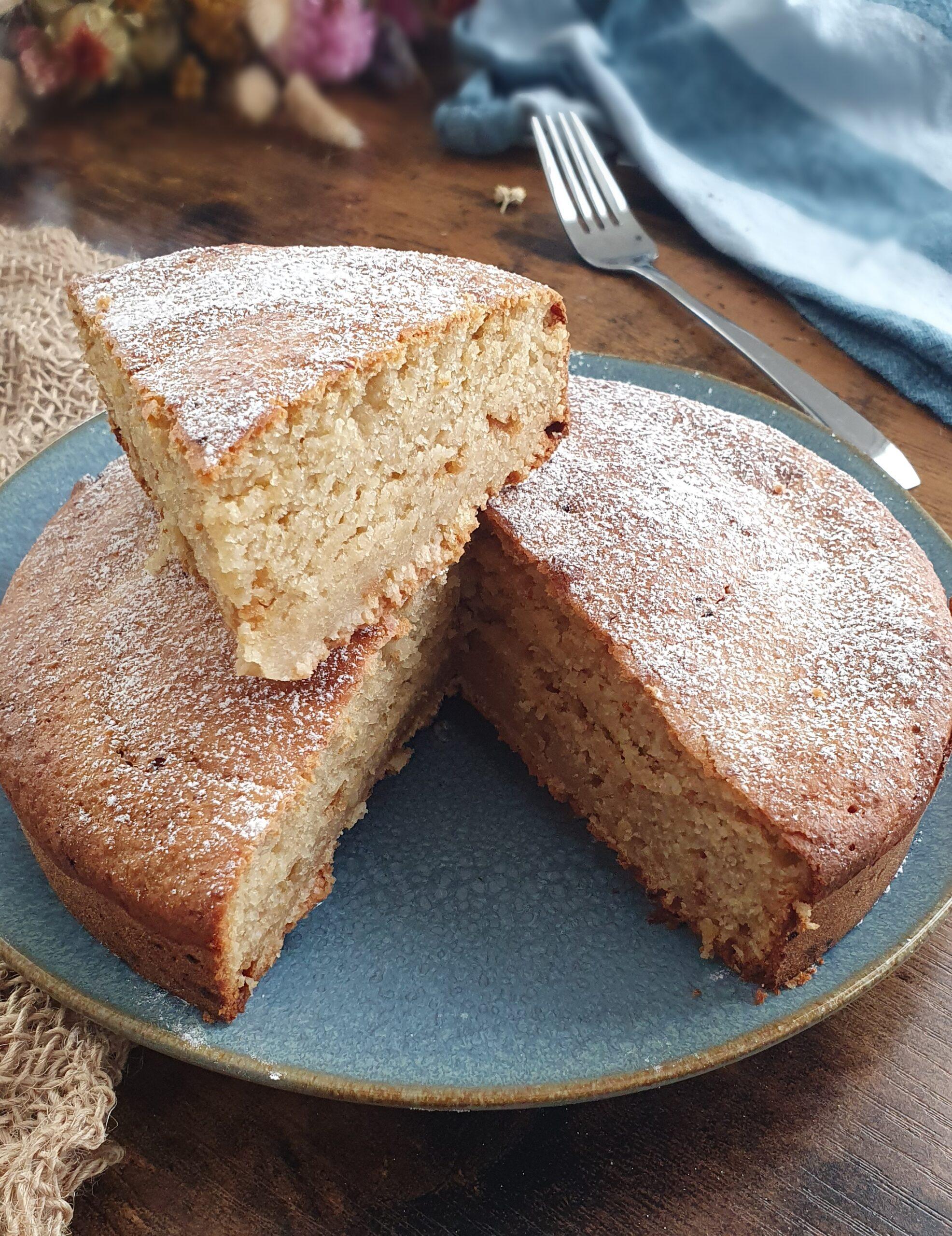 Gâteau au Yaourt Moelleux Vegan (Option Sans Soja)