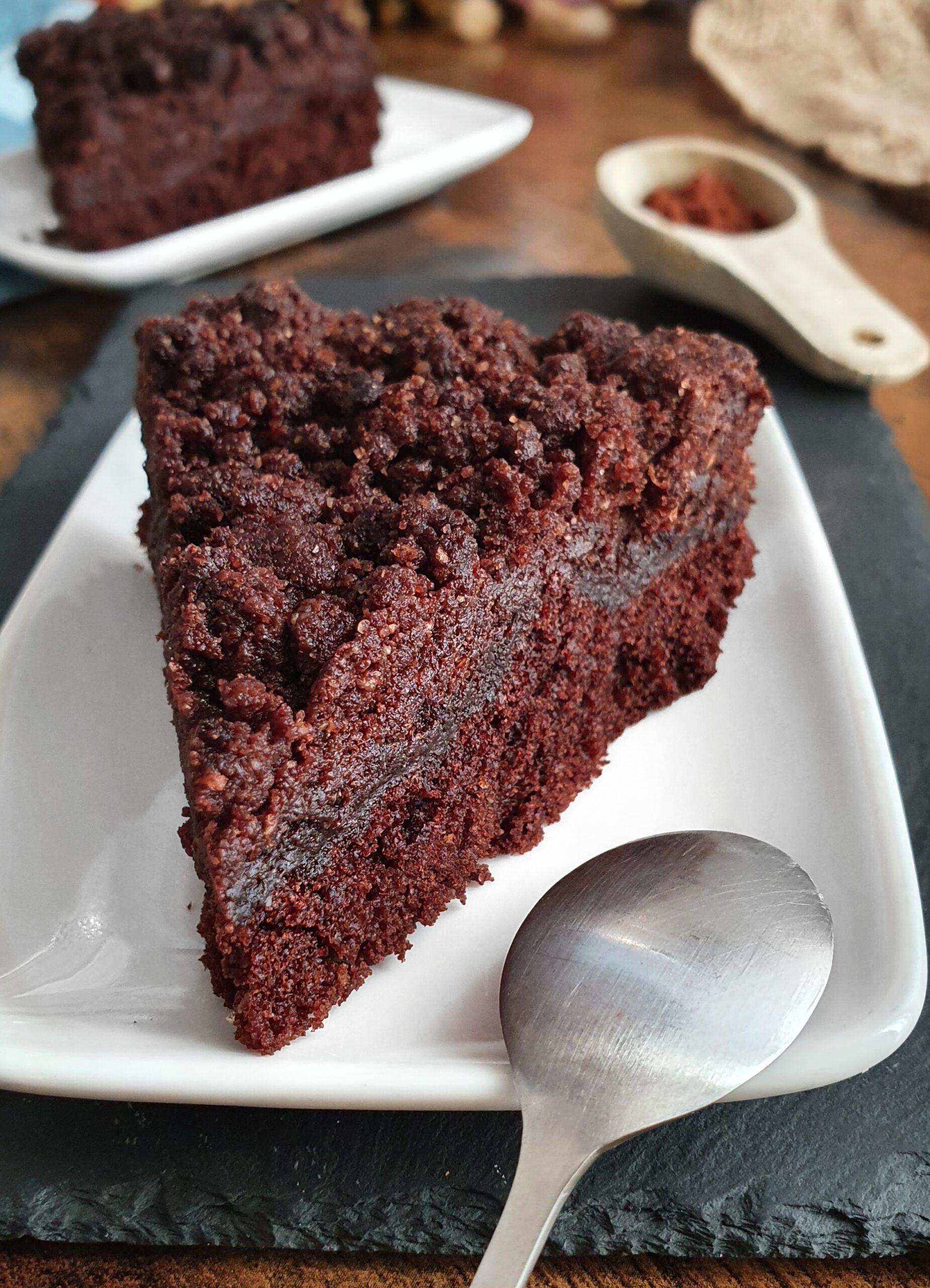Le Décadent : Gâteau au Chocolat Vegan coeur Fondant