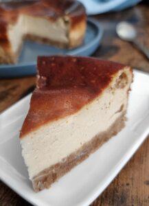 Cheesecake sans oeuf et sans lactose. Recette de Cheesecake vegan de mail0ves - Mailo Fait Maison